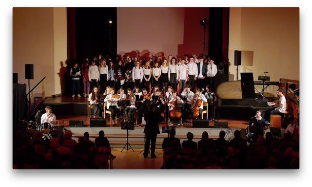 Jubiläum – 25. AvH-Weihnachtskonzert 2015