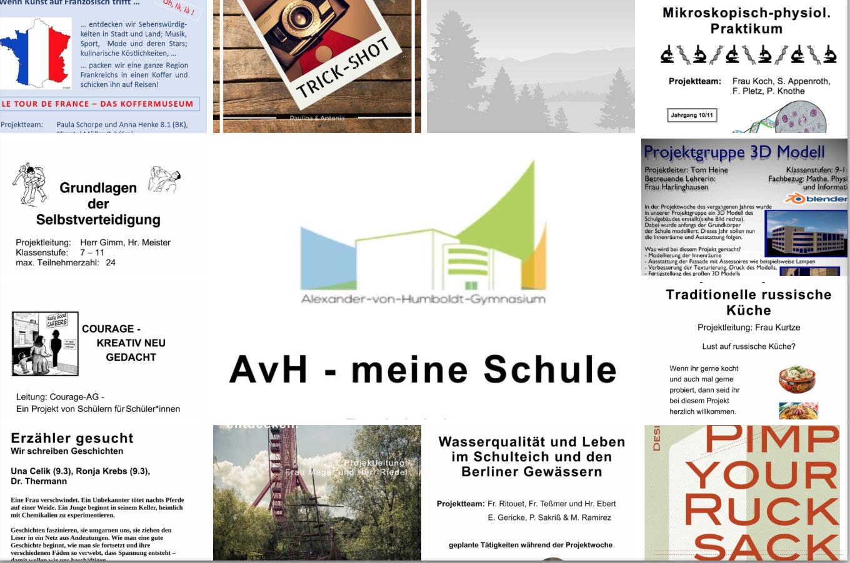 AvH-Projektwoche 2017