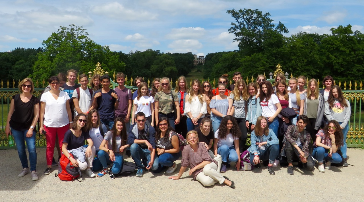 Schüleraustausch – Besuch aus Lyon