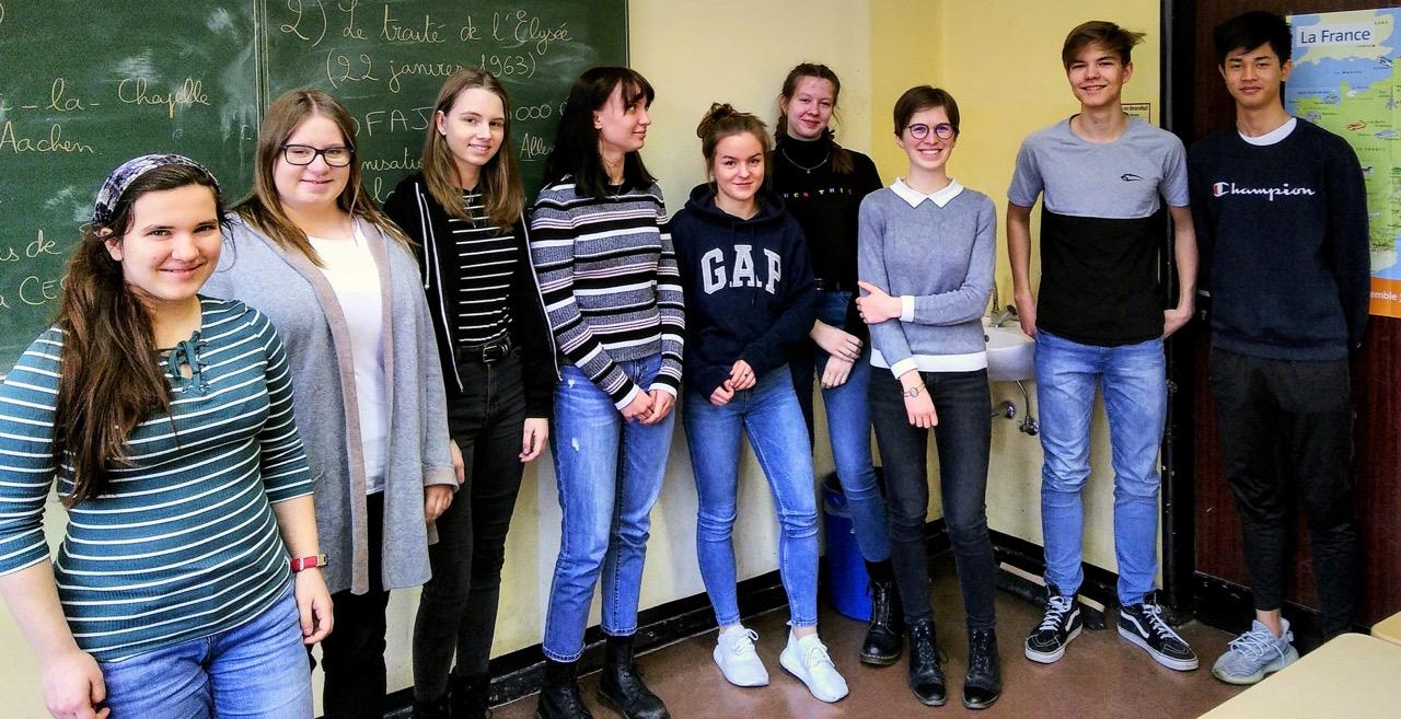 Französischer Besuch im Grundkurs Französisch f2 (11)