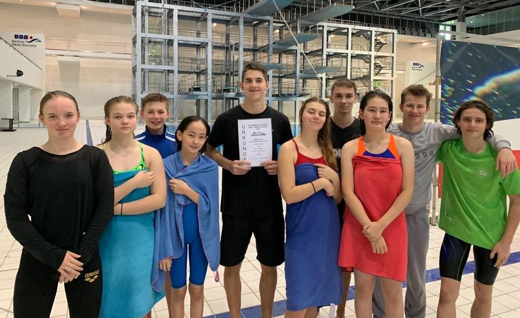 Schwimmwettkampf der Oberschulen 2019